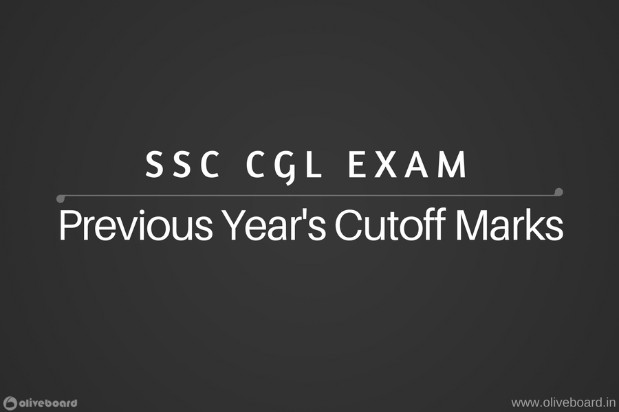 SSC CGL Previous Year's Cutoff Marks