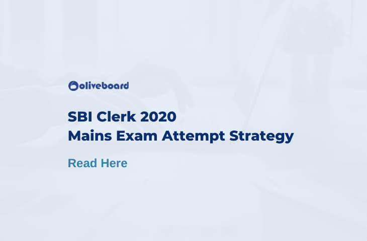sbi clerk mains exam strategy