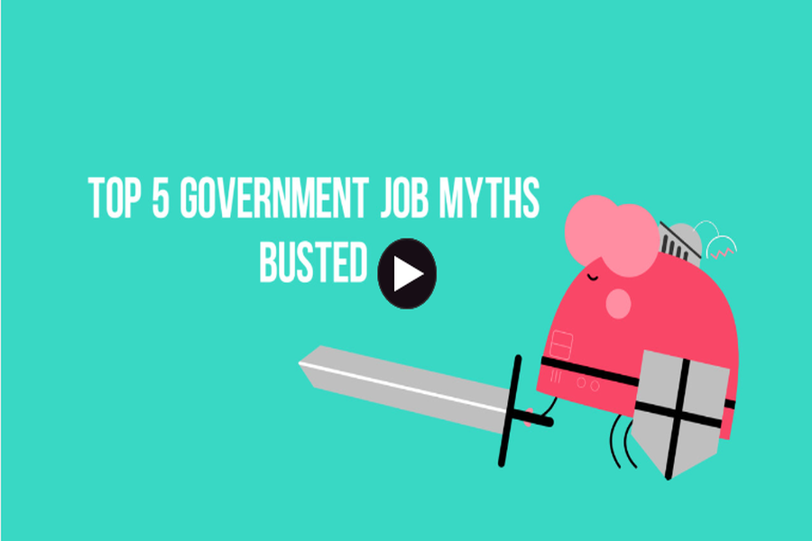 government jobs myths
