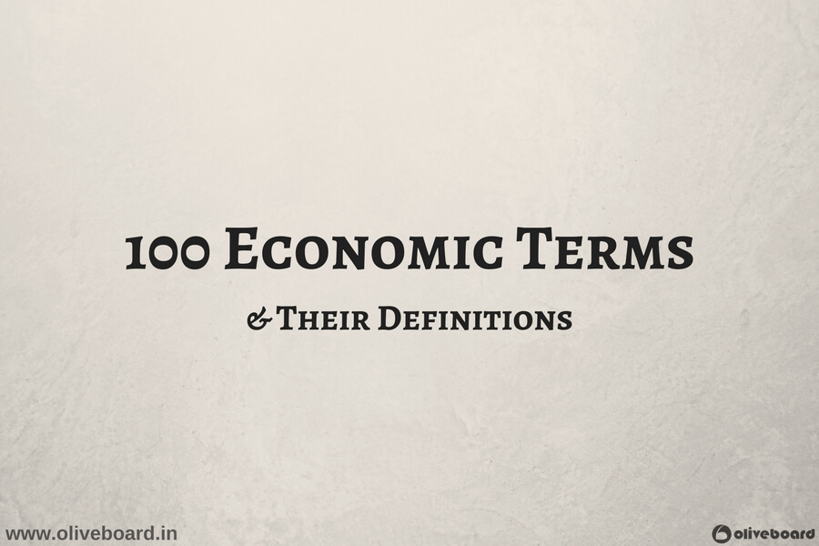 Basic economic terms, definitions, free download, pdf
