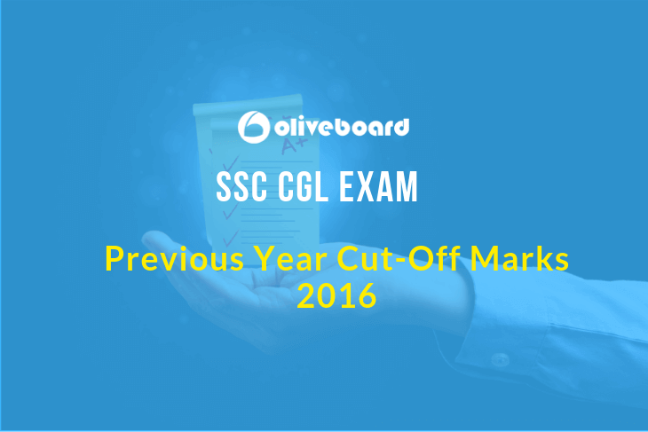 SSC CGL Previous Year Cut off 2016