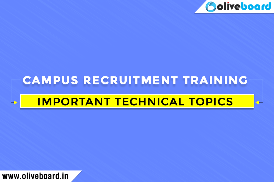 Campus-Recruitment-Training Campus Placements Important Technical Topics Preparation