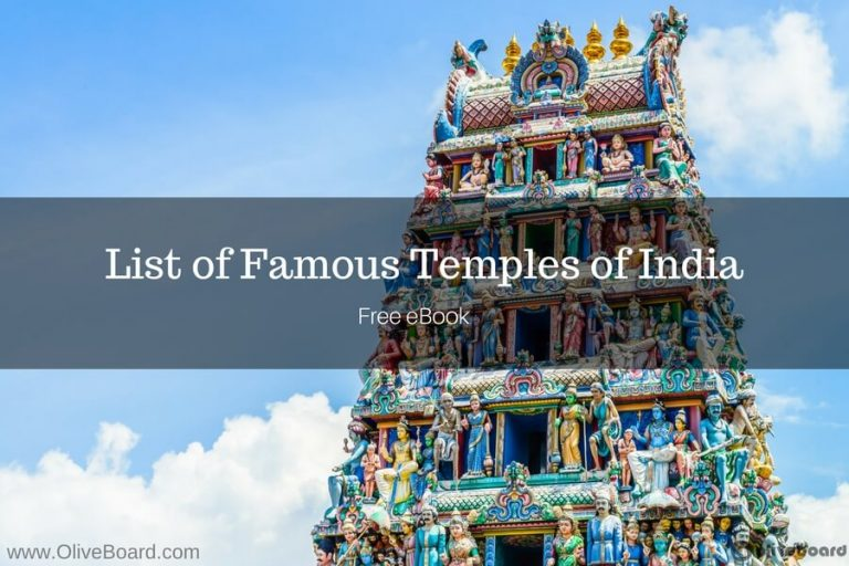 Famous temples of India