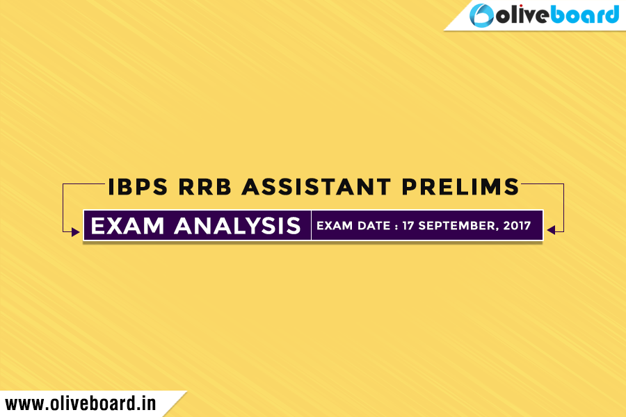 IBPS RRB Assistant Prelims AnalysisIBPS RRB Assistant Prelims Analysis