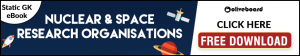 Static GK eBook: Nuclear & Space Research Centres