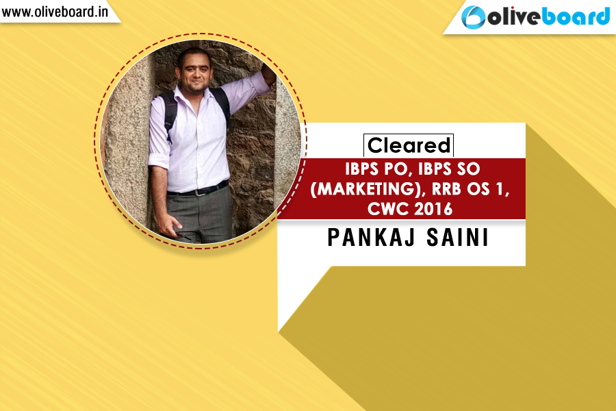 IBPS Success Story - Pankaj Saini
