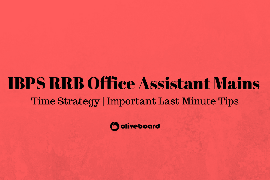 IBPS RRB Assistant mains time strategy IBPS RRB Assistant mains time strategy