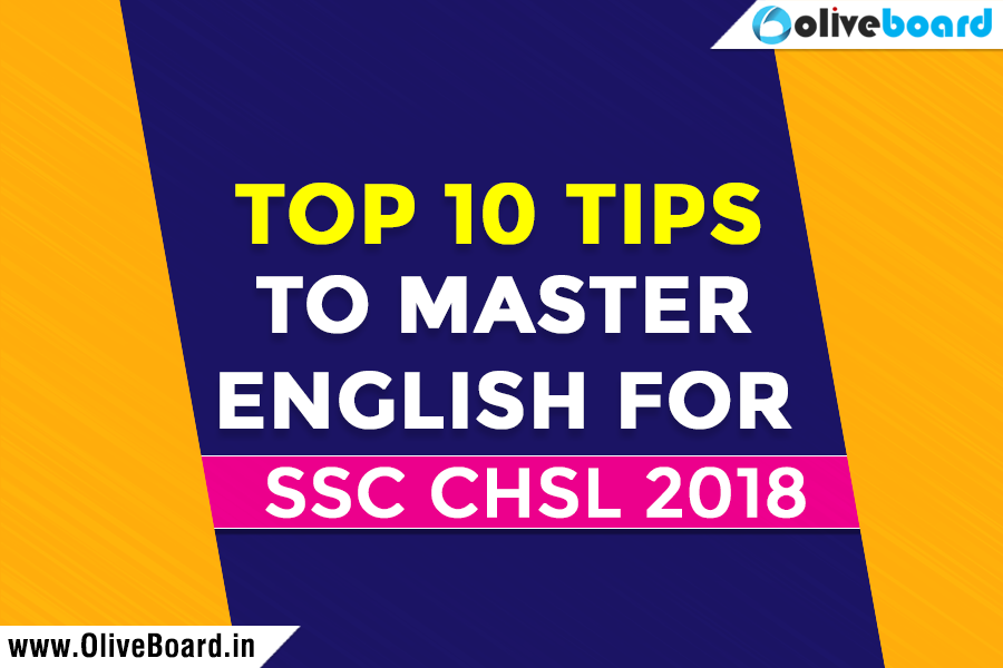 English For SSC CHSL 2018