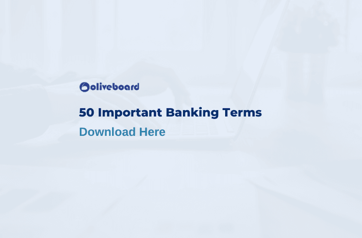 Important Banking Terms
