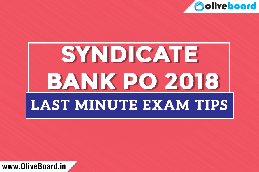 syndicate bank po questions 2018