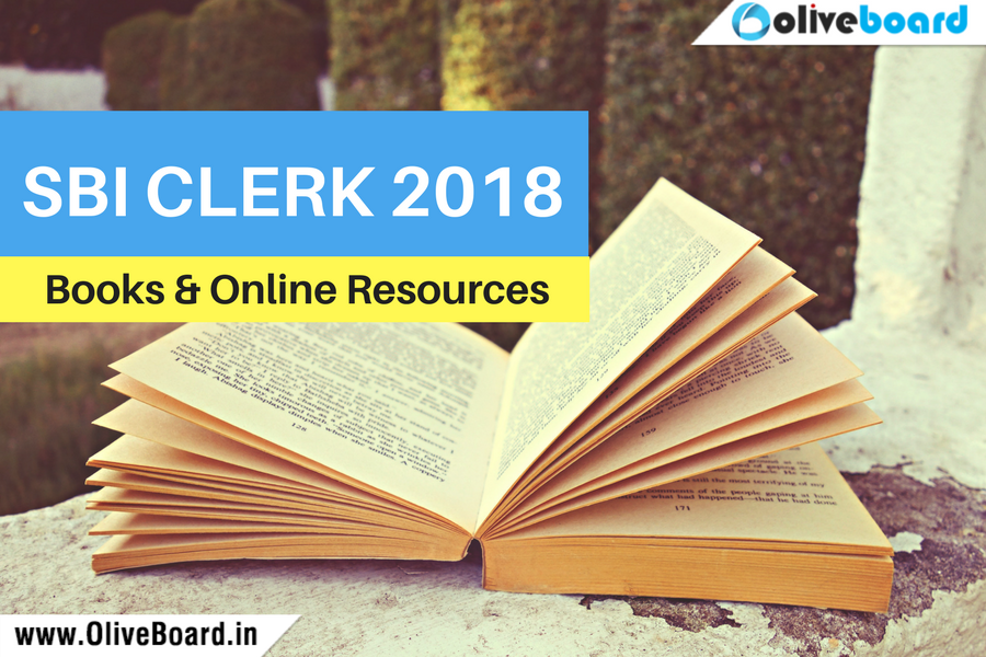 SBI CLERK 2018 BOOKS AND ONLINE RESOURCES