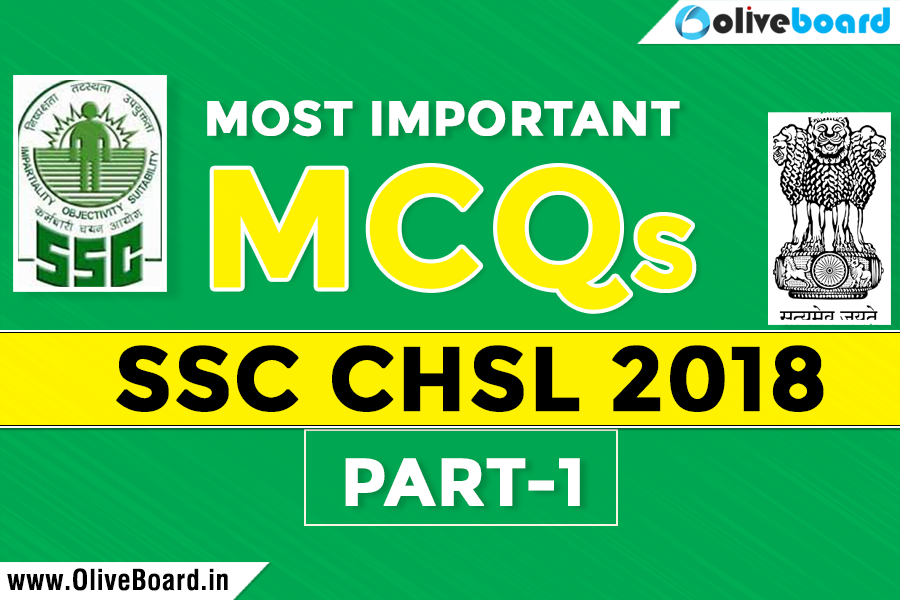 Most Important GK MCQ For SSC CHSL 2018