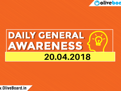 DAILY GK Current Affairs 20th April