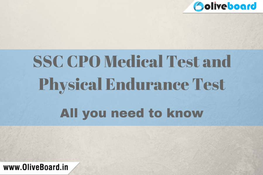 SSC CPO Medical Test