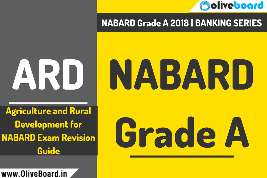 Agriculture and Rural Development for NABARD Grade A Exam