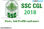SSC CGL Job Profile SSC CGL Job Profile SSC CGL Job Profile SSC CGL Job Profile