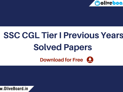 SSC CGL Tier I Previous Years' Solved Papers