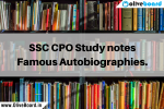 SSC CPO Notes Autobiographies SSC CPO Notes Autobiographies SSC CPO Notes Autobiographies SSC CPO Notes Autobiographies SSC CPO Notes Autobiographies SSC CPO Notes Autobiographies