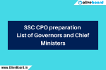 SSC CPO Preparation CM and Governor SSC CPO Preparation CM and Governor SSC CPO Preparation CM and Governor SSC CPO Preparation CM and Governor SSC CPO Preparation CM and Governor