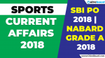 Sports Current Affairs 2018