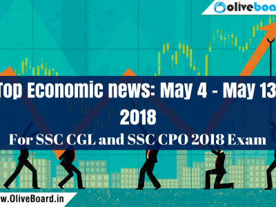Top Economic news: May 4 - May 13 SSC CGL Top Economic news May 4 - May 13 SSC CGL