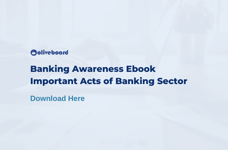 Important Acts of the Banking Sector