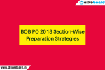 BOB PO 2018 Section-Wise Preparation Strategies