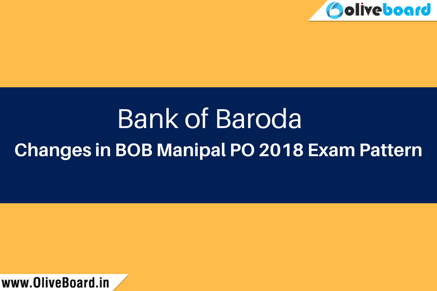 changes in BOB Manipal