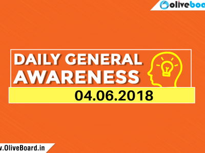 DAILY GK CURRENT AFFAIRS – 4th JUNE 1