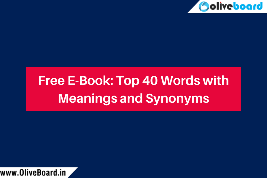 Free E-Book_ Top 40 Words with Meanings and Synonyms
