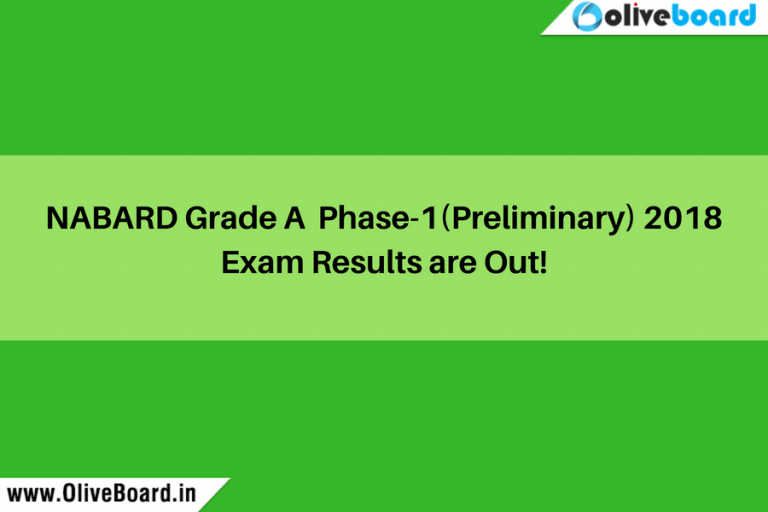NABARD Phase I Results