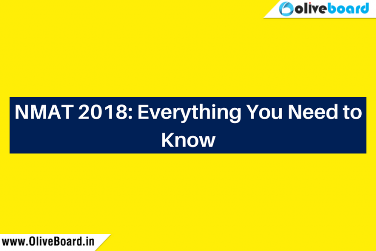 NMAT 2018 Everything You Need to Know