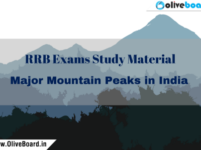 RRB Exams Study Material Mountains