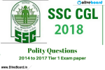 SSC CGL Paper Polity questions