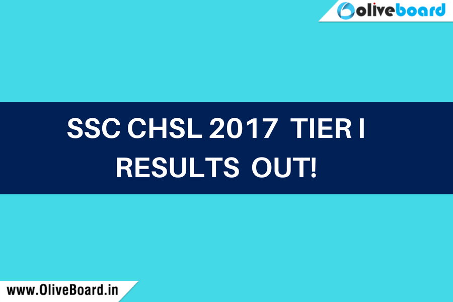 SSC CHSL 2017 Tier I results