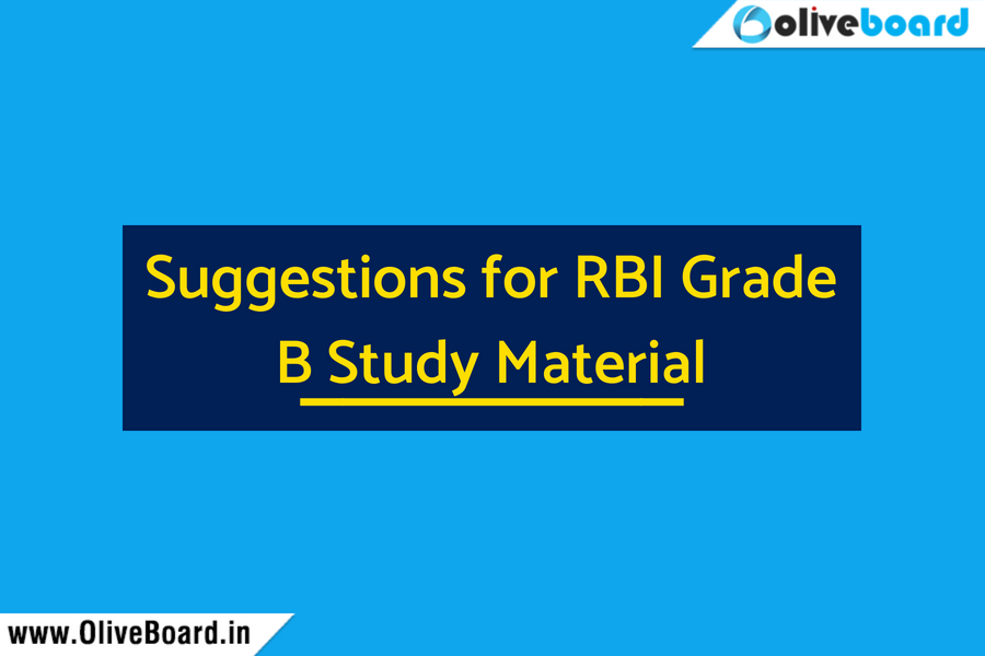 Suggestions for rbi grade b study material rbi 2018 rbi grade b fandeluxe Images
