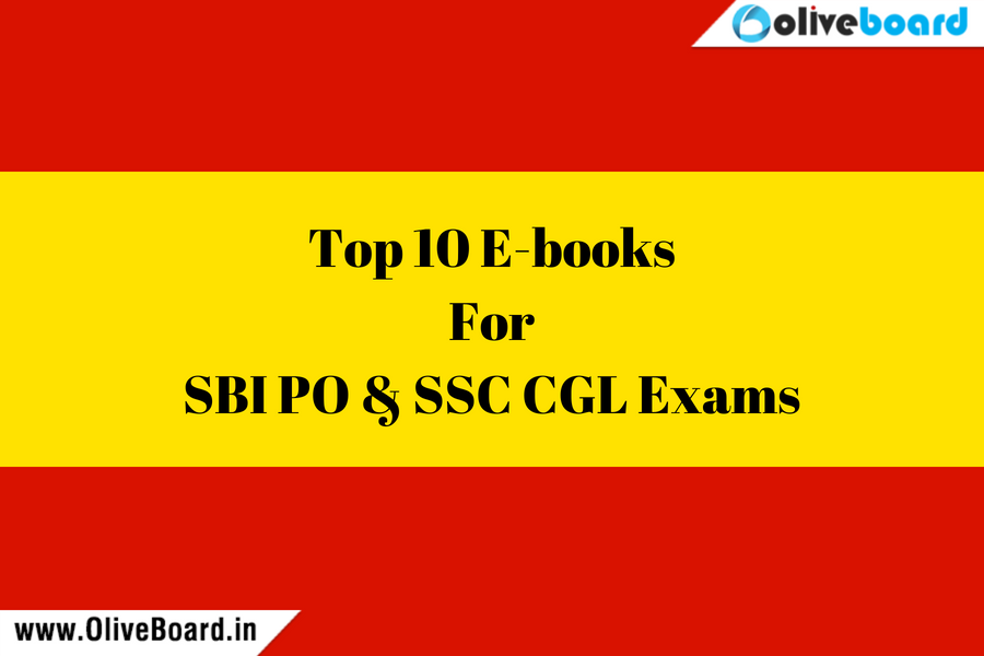 Top 10 E-books for SBI and SSC