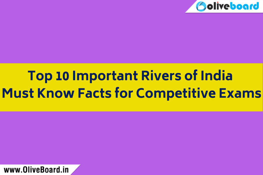 Top 10 Important Rivers of India _ Must Know Facts for Competitive Exams
