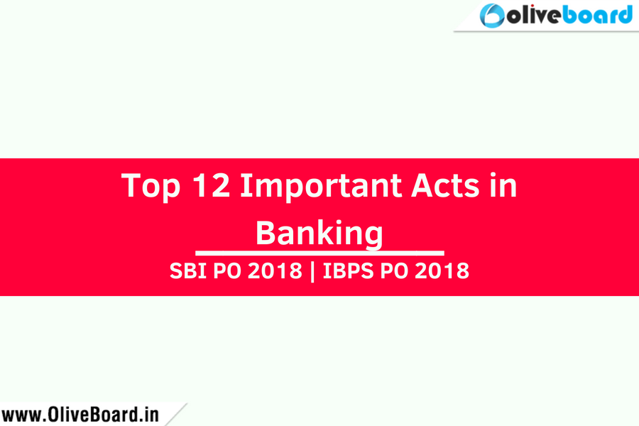 Top 12 Important Acts in Banking