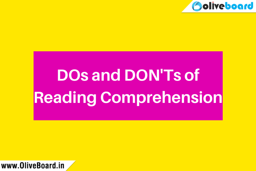 DOs and DON'Ts of Reading Comprehension