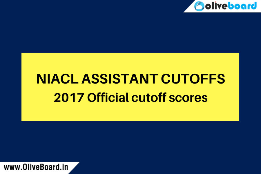 NIACL Assistant Cutoff scores