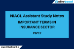 NIACL Assistant Study notes 2