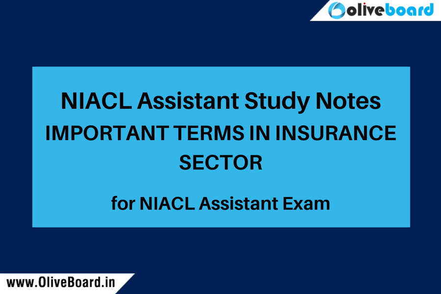 NIACL Assistant Study notes