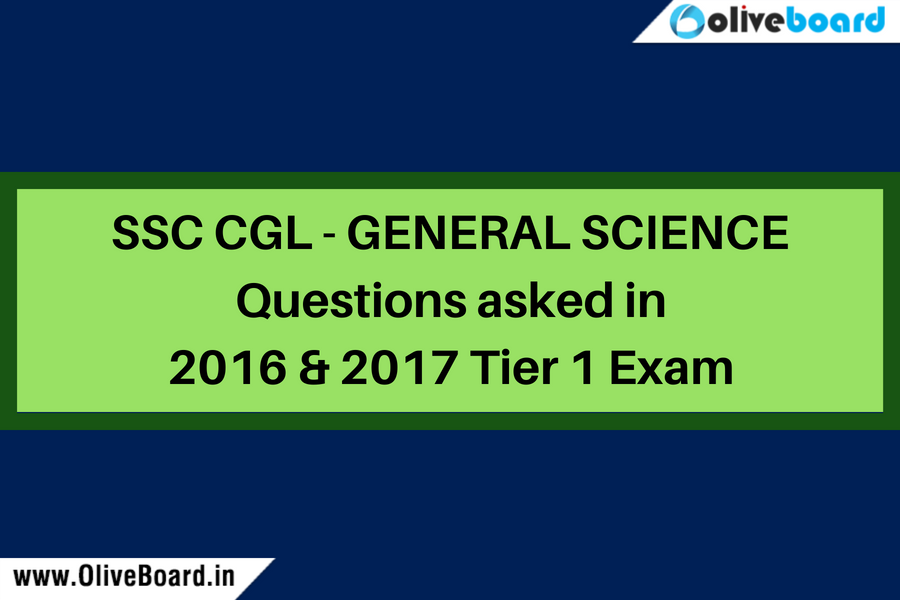 SSC CGL - General Science Questions