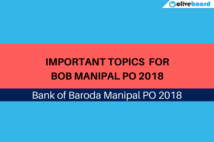 important topics for BOB Manipal