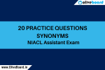 practice questions synonyms