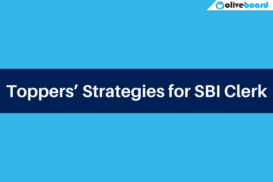 toppers' strategies for SBI Clerk
