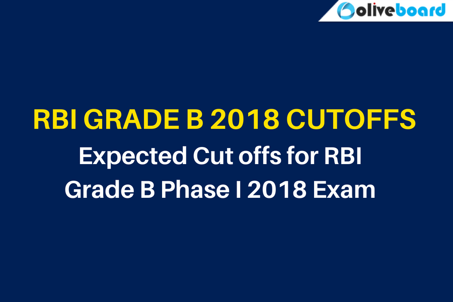 Expected Cut offs for RBI Grade B Phase I
