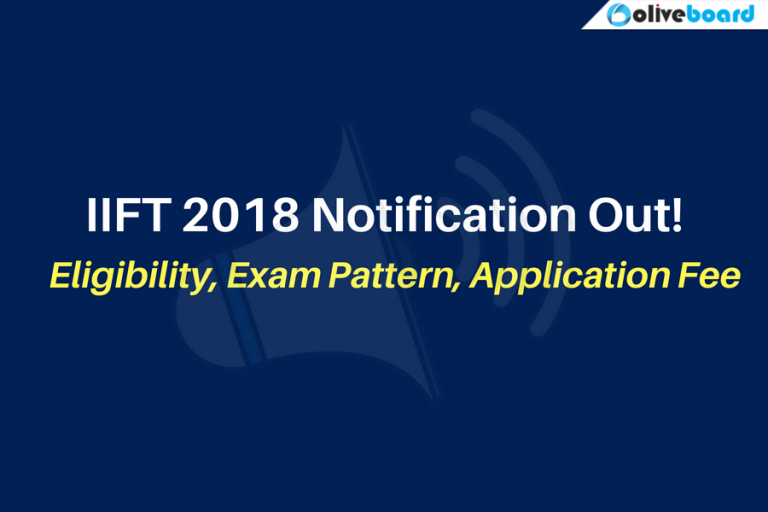 IIFT 2018 Notification
