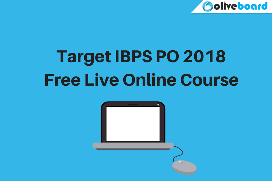 Target IBPS PO 2018 – Free Live Online Course